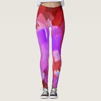 Bunter Farben-Spritzer #31 Leggings