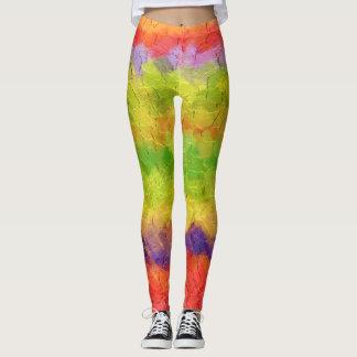 Bunter Farben-Spritzer #38 Leggings
