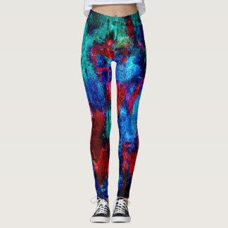 Bunter Farben-Spritzer #4 Leggings