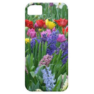 Bunter Frühlings-Blumengarten Hülle Fürs iPhone 5