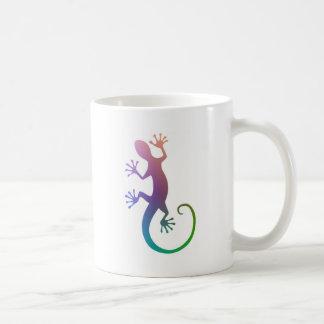 Bunter Gecko Kaffeetasse