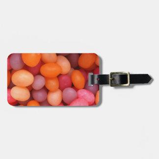 Bunter Geleebonbon-Süßigkeits-Entwurf, Gepäck Kofferanhänger