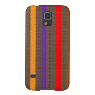 Bunter Gewebe-Streifen: Feier-Geschenke BILLIG Galaxy S5 Cover