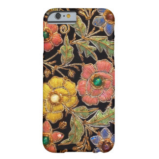 Bunter Glasperlen-Vintager Blumenentwurf Barely There iPhone 6 Hülle