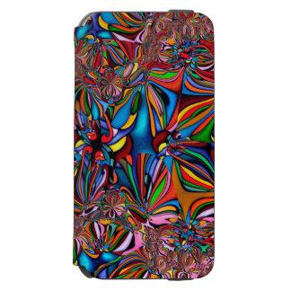 Bunter glatter abstrakter Kasten Incipio Watson™ iPhone 6 Geldbörsen Hülle
