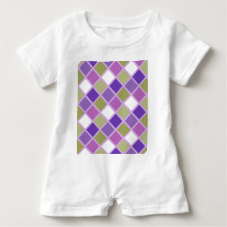 Bunter Harlekin Baby Strampler