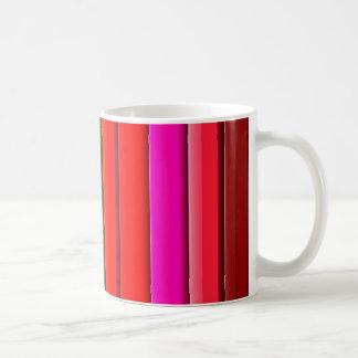 Bunter heller Regenbogen Kaffeetasse