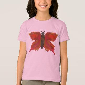 Bunter hübscher Schmetterling T-Shirt