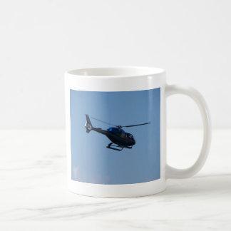 Bunter Hubschrauber E120 Kaffeetasse