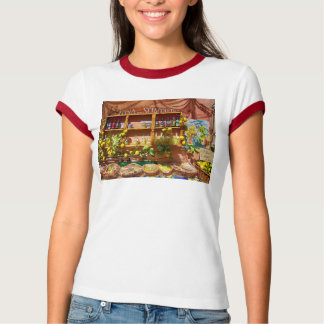 Bunter italienischer Markt-Stall Hemden
