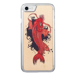 Bunter Japaner Koi Carved iPhone 8/7 Hülle