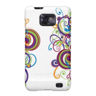 Bunter Kasten Strudel-Samsung-Galaxie-S Samsung Galaxy SII Case