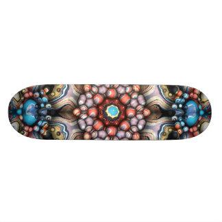 Bunter Kreis der Formen 3D Skateboardbretter