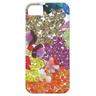 Bunter KristallGlitz entsteint Perlen Etui Fürs iPhone 5