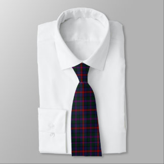 Bunter MacCaughan Tartan-karierte Hals-Krawatte Krawatte