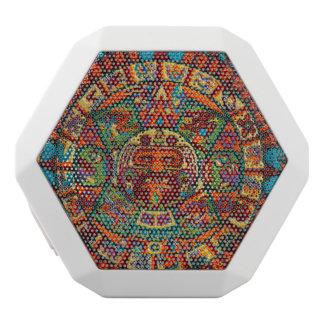 Bunter Mayakalender Weiße Bluetooth Lautsprecher