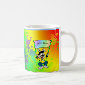 Bunter Osterhase Kaffeetasse