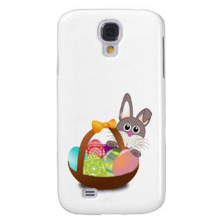 Bunter Osterhase und Eier Galaxy S4 Hülle