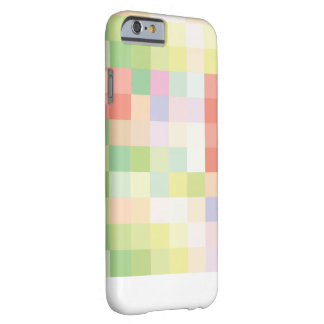 Bunter Pixellated grüner Frühling iPhone 6/6s Barely There iPhone 6 Hülle