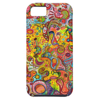 Bunter psychedelischer iPhone 5 kaum dort Kasten iPhone 5 Hülle