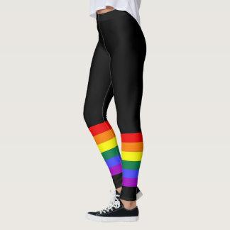 Bunter Regenbogen des Gay Pride-LGBT Leggings