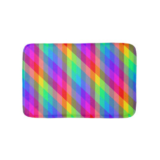 Bunter Regenbogen-Spektralprismen Badematte