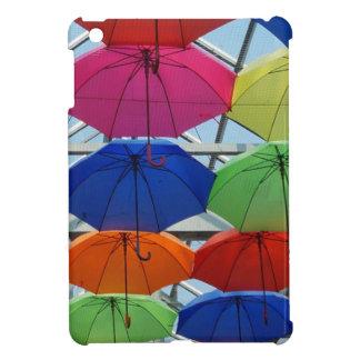 bunter Regenschirm iPad Mini Hülle