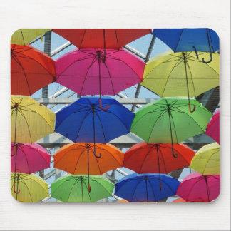 Bunter Regenschirm Mousepad