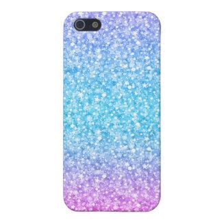 Bunter Retro Glitter und Glitzern iPhone 5 Case