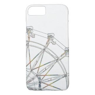 Bunter Riesenrad kaum dort iPhone 7 Kasten iPhone 7 Hülle