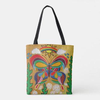 Bunter Schmetterling Tasche