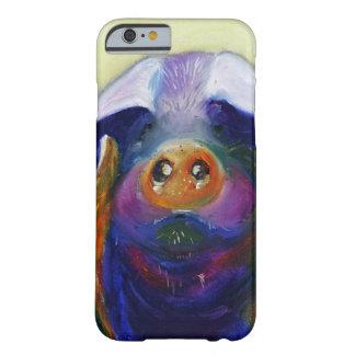 Bunter Schwein iPhone Kasten Barely There iPhone 6 Hülle
