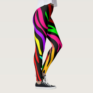 Bunter stilvoller Entwurf Leggings