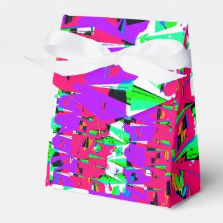 Bunter Störschub-Muster-Entwurf Geschenkschachtel