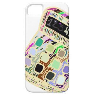 bunter Taschenrechner iPhone 5 Etui