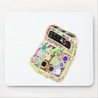 bunter Taschenrechner Mousepad