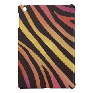 Bunter Tiger-Tierdruck iPad Mini Hülle