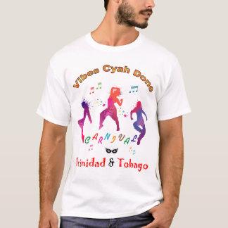 Bunter Trinidad und Tobago-Karneval T-Shirt
