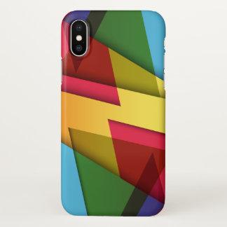 Bunter und Savvy abstrakter Entwurf | iPhone X iPhone X Hülle