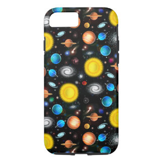 Bunter Universum-Astronomie iPhone 7 Kasten iPhone 8/7 Hülle