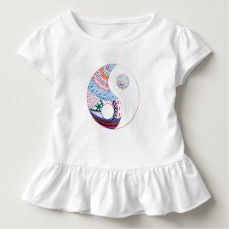 Bunter ying Yang, geistig Kleinkind T-shirt