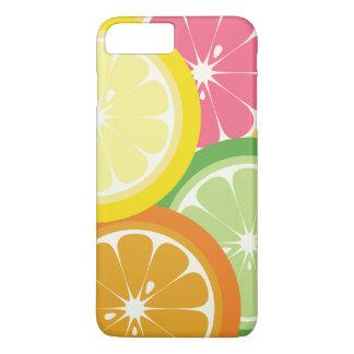 Bunter Zitrusfrucht Iphone 7 Kasten iPhone 8 Plus/7 Plus Hülle