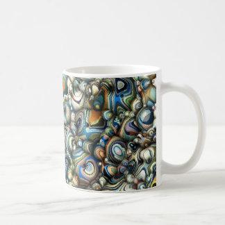 Buntes 3D abstrakt Kaffeetasse