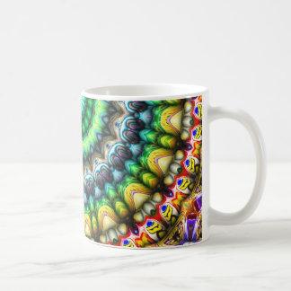 Buntes 3D abstrakter Sun Kaffeetasse