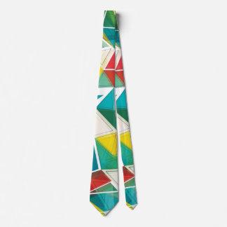 Buntes abstraktes Dreieck-Party Krawatte