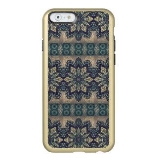 Buntes abstraktes ethnisches Blumenmandalamuster Incipio Feather® Shine iPhone 6 Hülle