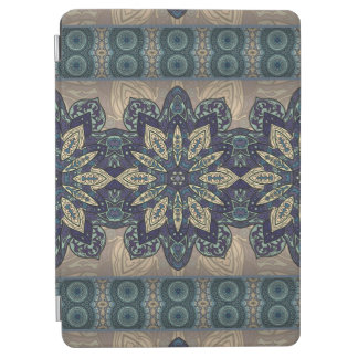 Buntes abstraktes ethnisches Blumenmandalamuster iPad Air Cover