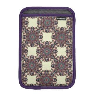 Buntes abstraktes ethnisches Blumenmandalamuster Sleeve Für iPad Mini