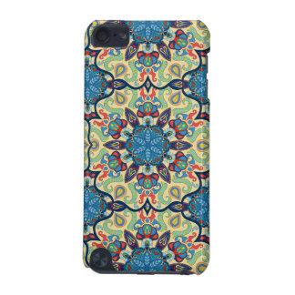Buntes abstraktes ethnisches Blumenmandalamusterde iPod Touch 5G Hülle