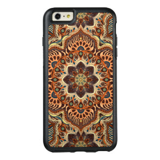 Buntes abstraktes ethnisches Blumenmandalamusterde OtterBox iPhone 6/6s Plus Hülle